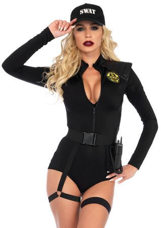 SWAT Team Babe Costume