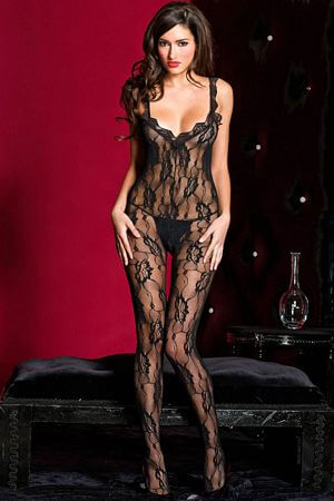 Sensual Crotchless Bodystocking