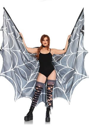 Spiderweb Wing Cape