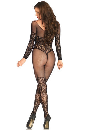 Up To No Good Crotchless Bodystocking