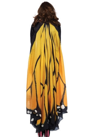 Monarch Butterfly Halter Cape