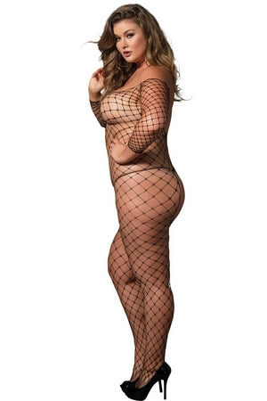 Queen Nothing But Net Crotchless Bodystocking