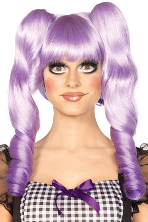 Lavender Dolly Bob Wig