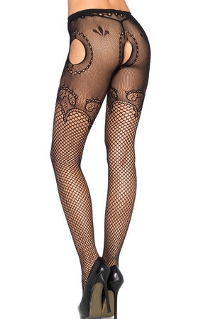 Duchess Lace Suspender Hose