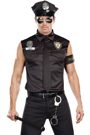 Dirty Gent Cop Costume