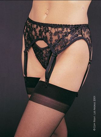 Lace Garter Belt Set