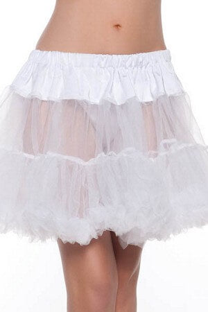 White Annie Layered Petticoat