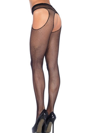 Suspender Fishnet Pantyhose