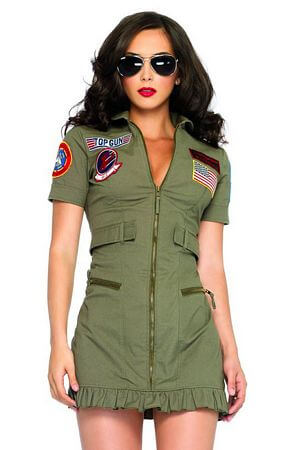 Top Gun Flight Costume