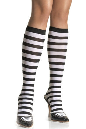 Striped Knee Highs