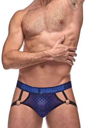 Diamond Mesh Jock Ring