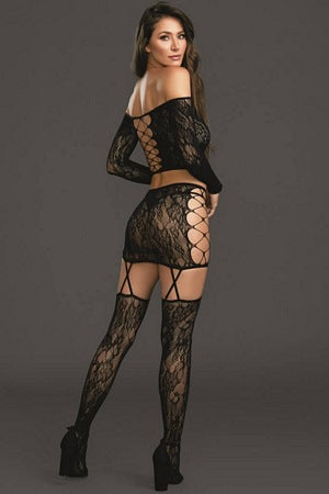 Luscious Lace 2 Pc Set