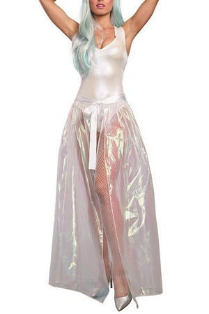 Iridescent Sparkly Tie Skirt