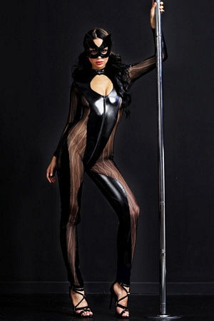 Wild Kitty Catsuit Set