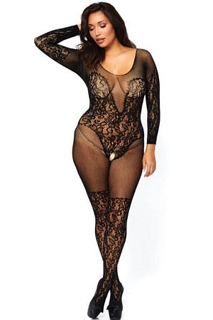 Queen Vine Lace Bodystocking