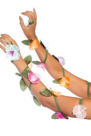 Flower Arm Wrap