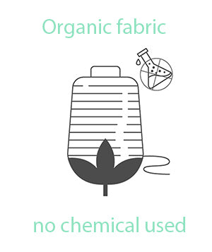 organic fabric means no chemical used, extend soil life