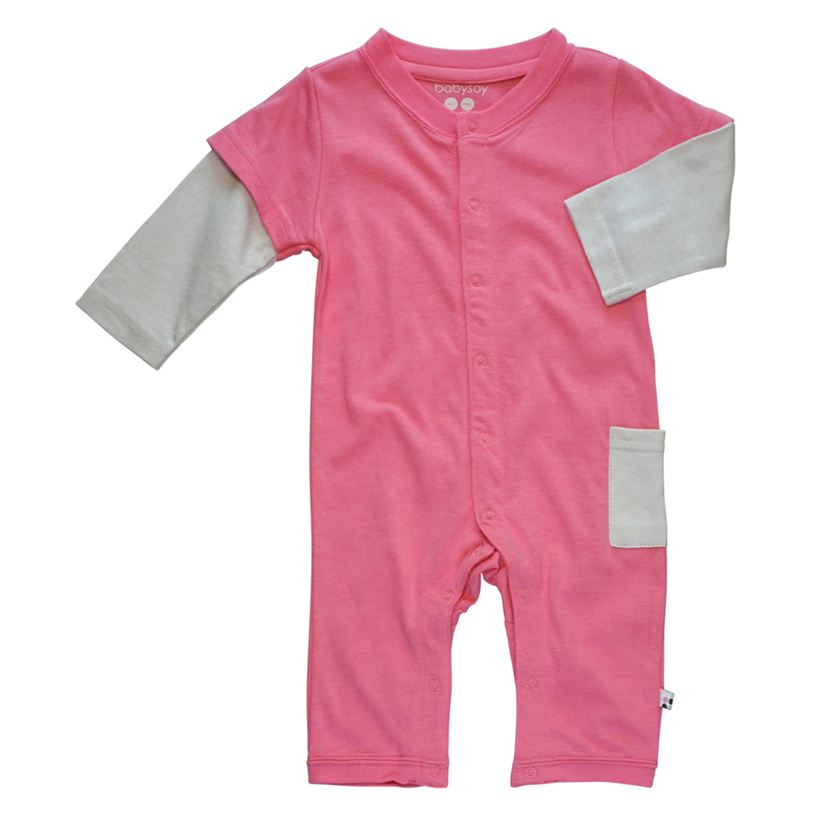 Eggplant 18 24 Months Babysoy Layered One Piece