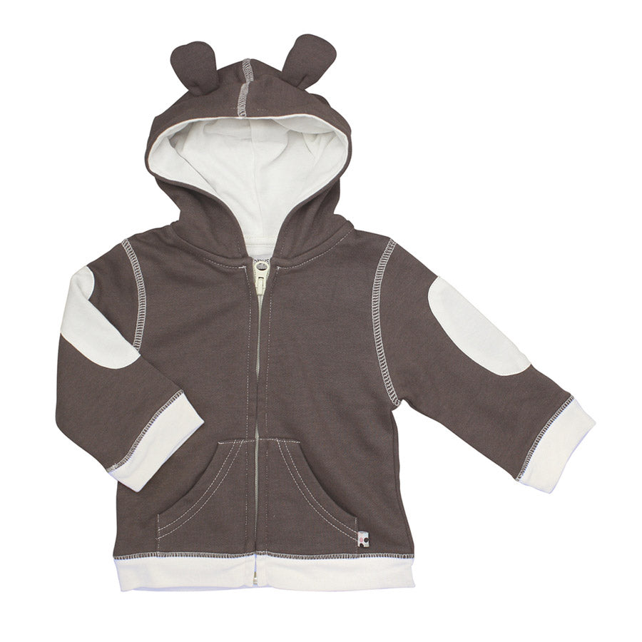 Basic Bunny Ears Fleece Hoodie