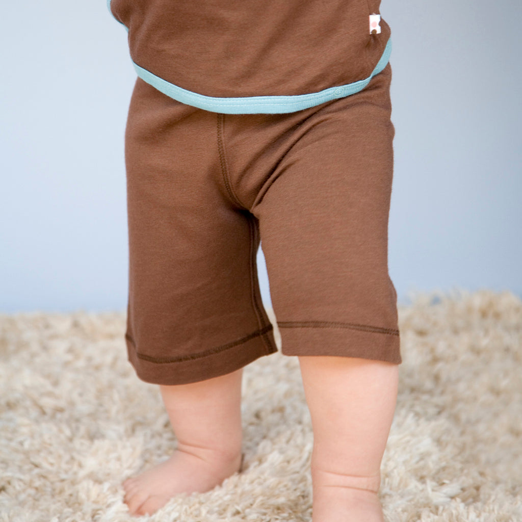 babysoy knee high comfy shorts