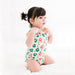 babysoy fruit pattern short sleeve bodysuit