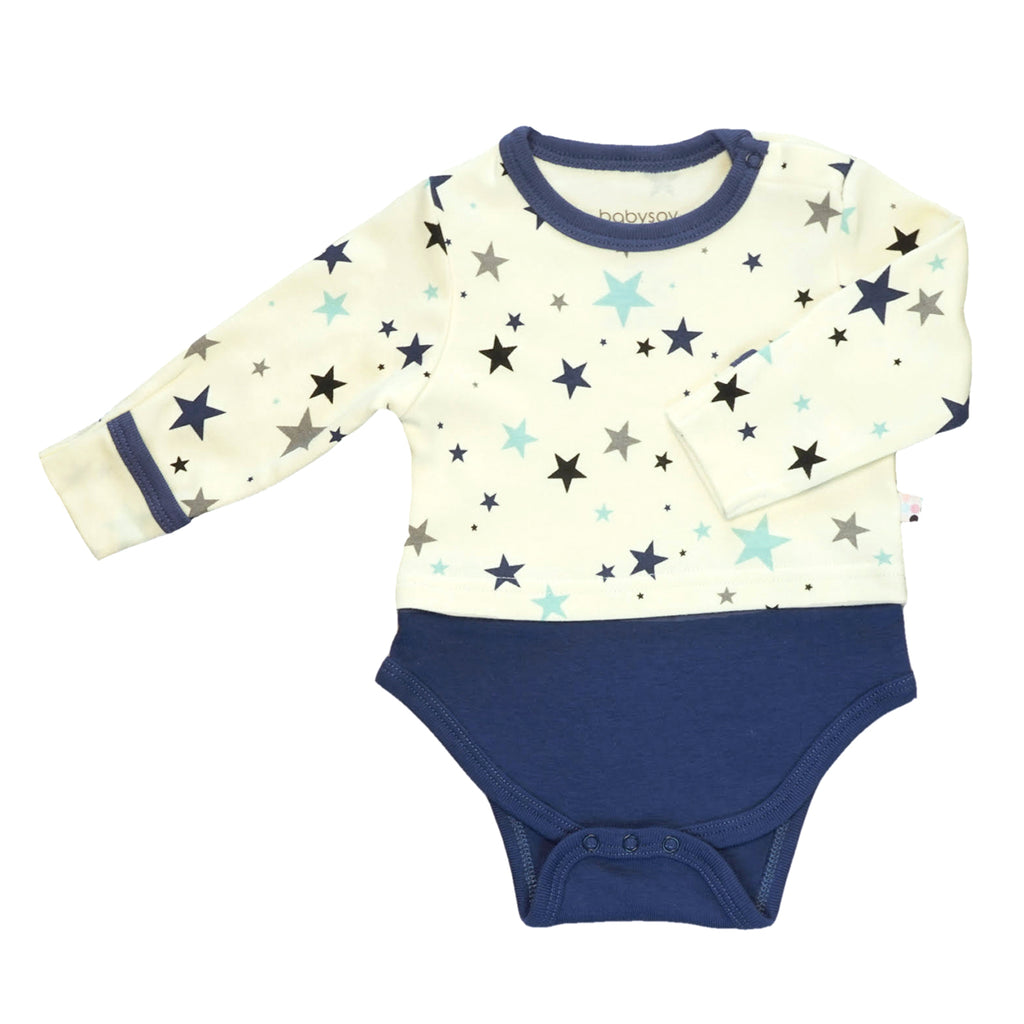 star long sleeve tee bodysuit