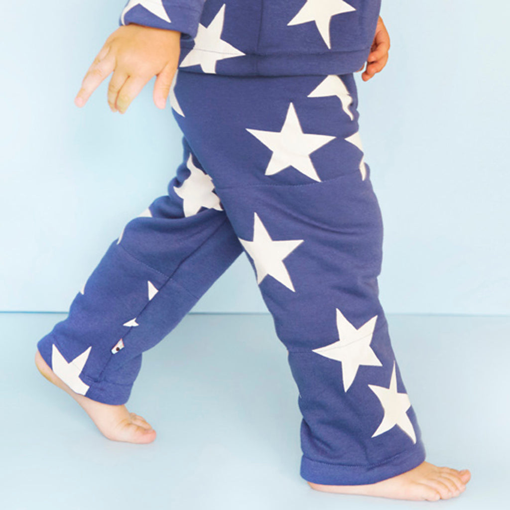 babysoy star pattern cozy pants