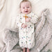 babysoy star pattern mix long sleeve gown bundler sleep sacks