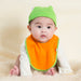 babysoy eco organic two color bibs
