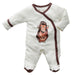 Jane Goodall Animal Print Footie