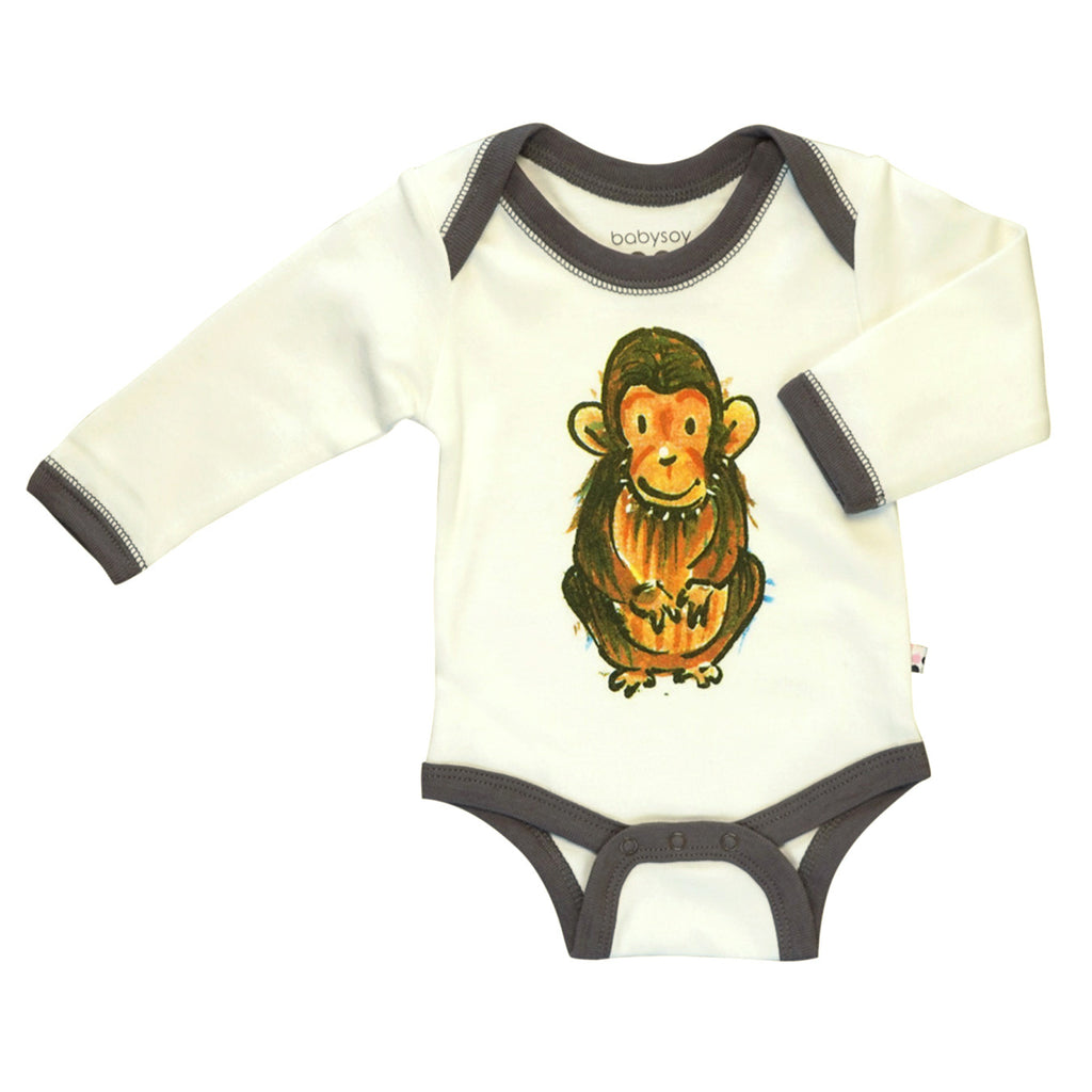 Babysoy x Jane Goodall - Chimp Collection