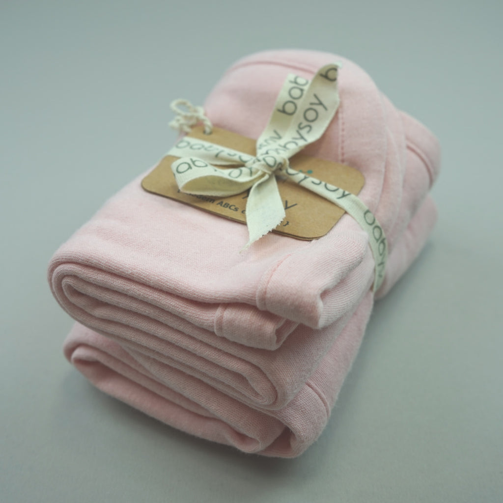 Modern Solid Colored Burpie/Burp Cloth Sets
