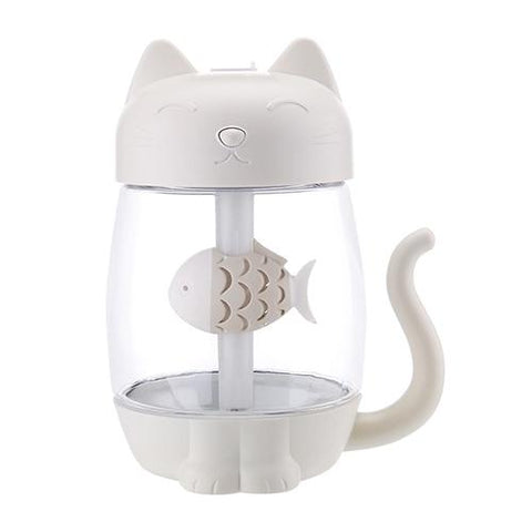 613 - Home & Garden > Household Appliances > Climate Control Appliances > Humidifiers - The Coolest Cat - Ultrasonic LED Humidifier/Air Diffuser/Freshener - Home Or Auto