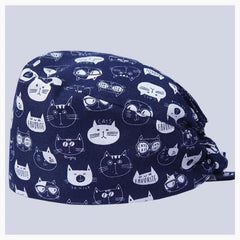 MD Meow - Cat Surgical Cap