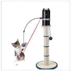 Animals & Pet Supplies > Pet Supplies > Cat Supplies > Cat Toys - The Tower Topper -  Electronic Laser Toy