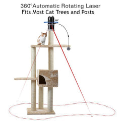 The Tower Topper -  Electronic Laser Toy