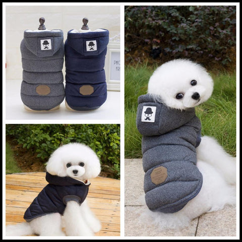 Animals & Pet Supplies > Pet Supplies > Dog Supplies > Dog Apparel - Warm Winter Pooch Parka - Insulated Winter Coat For Pets