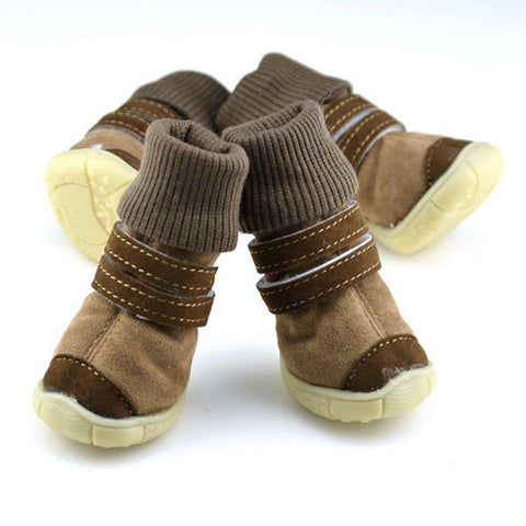 Animals & Pet Supplies > Pet Supplies - Insulated Winter Fashion Boots For FurBabies