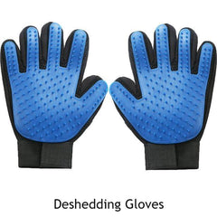 Animals & Pet Supplies > Pet Supplies > Pet Grooming Supplies - Deshedding Gloves - Silicone Bristles - Grooming Gloves