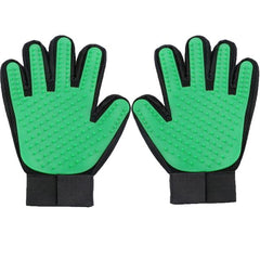 Deshedding Gloves - Silicone Bristle - Grooming Gloves