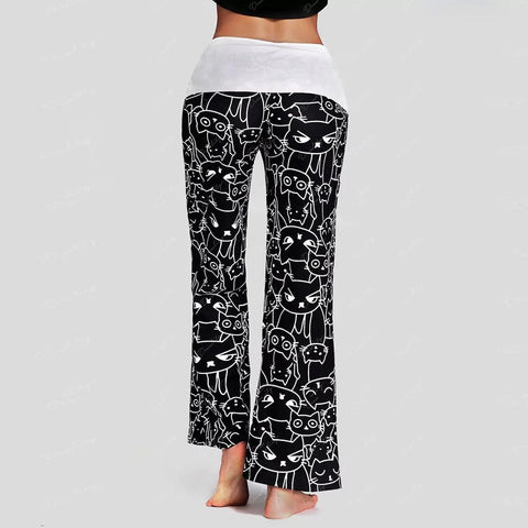 Apparel & Accessories > Clothing - Kitty Casual Lounge Pants