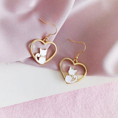 Cat-n-My Heart Earrings (Get Them FREE - Read How!)