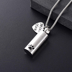 Apparel & Accessories > Jewelry - Pet Memorial Urn - Necklace