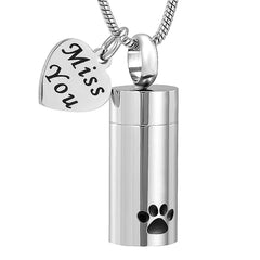 Pet Memorial Urn - Necklace