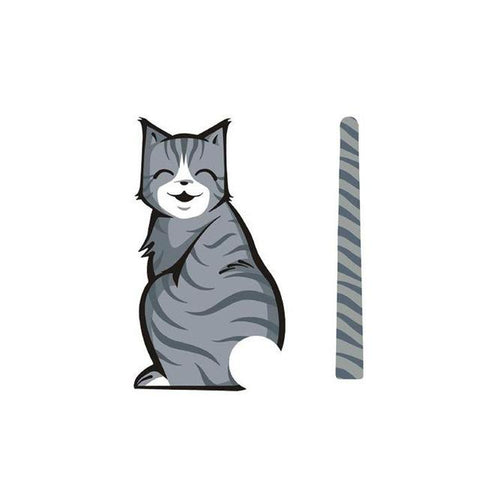 Car Decal - Cat Tail Wiper Decal