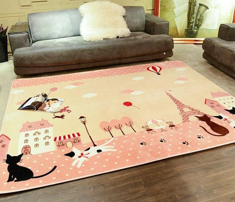 Carpet - Cats Parisienne -  Area Rug