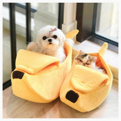 Cat Beds & Mats - Banana Bed -  Cat Cave/Doggy Den