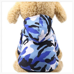 Cat Clothing - Cool Camo Hoodies For Cats And Small Dogs