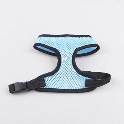 Cat Collars & Leads - Breathable Mesh Harness - Cat Or Dog