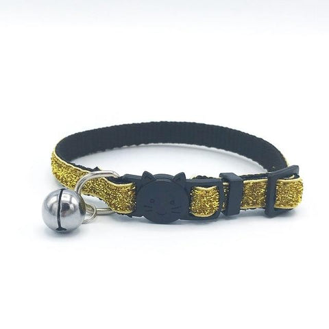 Cat Collars & Leads - Sparkle And Bell Collar